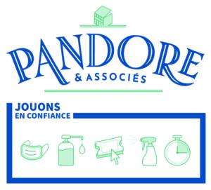 Pandore & Associés escape game a signé la charte Jouons en confiance de Paris