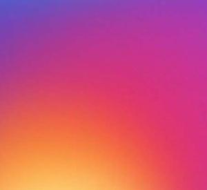 degrade instagram