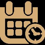 picto date de reservation